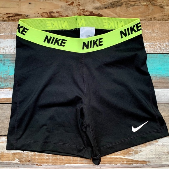 Nike Pants - Nike Pro high waist dri fit shorts 4""